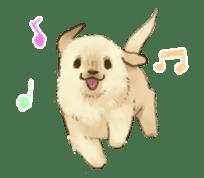 The Golden Retriever Puppy! sticker #1450600