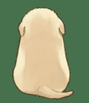 The Golden Retriever Puppy! sticker #1450602