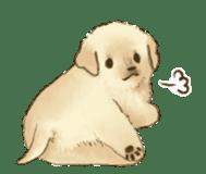 The Golden Retriever Puppy! sticker #1450606