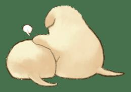 The Golden Retriever Puppy! sticker #1450607
