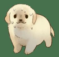 The Golden Retriever Puppy! sticker #1450609