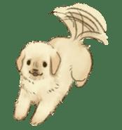 The Golden Retriever Puppy! sticker #1450611