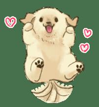 The Golden Retriever Puppy! sticker #1450612