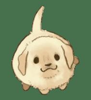 The Golden Retriever Puppy! sticker #1450616