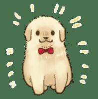 The Golden Retriever Puppy! sticker #1450617