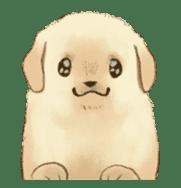 The Golden Retriever Puppy! sticker #1450618
