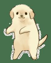 The Golden Retriever Puppy! sticker #1450622
