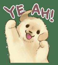 The Golden Retriever Puppy! sticker #1450623