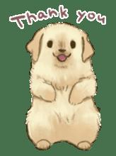 The Golden Retriever Puppy! sticker #1450626