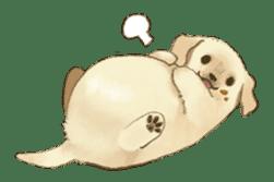 The Golden Retriever Puppy! sticker #1450628