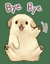 The Golden Retriever Puppy! sticker #1450629