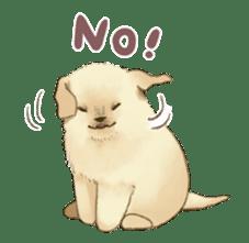 The Golden Retriever Puppy! sticker #1450630