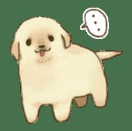 The Golden Retriever Puppy! sticker #1450632