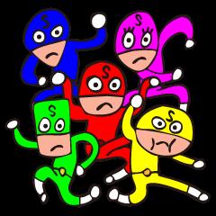 Sticker Sentai Iikagenger