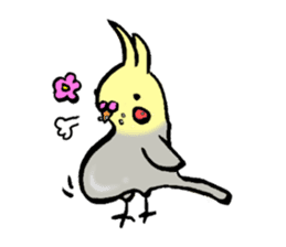 Parakeet party! sticker #1453879