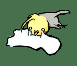 Parakeet party! sticker #1453882