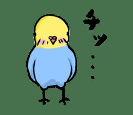 Parakeet party! sticker #1453894