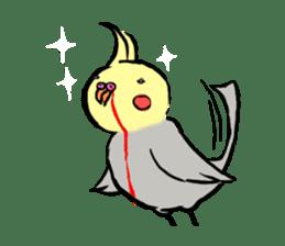Parakeet party! sticker #1453898