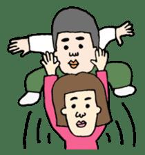 MAGAO people sticker #1458588