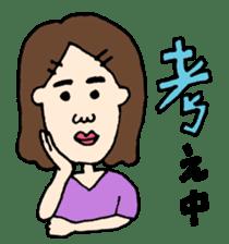 MAGAO people sticker #1458592