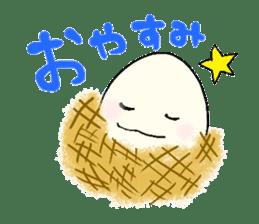 Lovely egg sticker #1461285