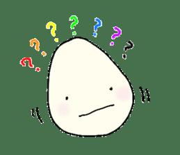Lovely egg sticker #1461291