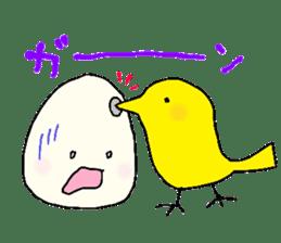 Lovely egg sticker #1461302