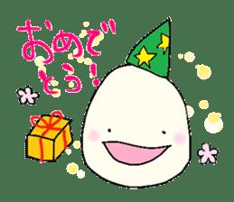 Lovely egg sticker #1461303