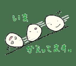 Lovely egg sticker #1461305