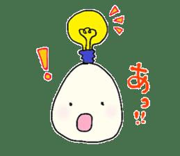 Lovely egg sticker #1461306