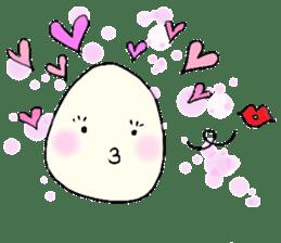 Lovely egg sticker #1461310