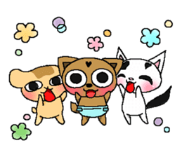 Little dog Hana sticker #1461881