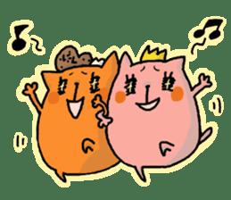 Tamiko and Baruko sticker #1462409