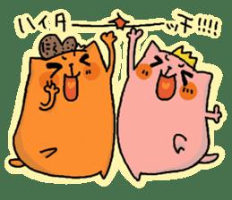 Tamiko and Baruko sticker #1462428