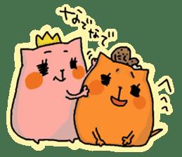 Tamiko and Baruko sticker #1462439
