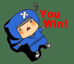 ninja ninnin sticker #1466071