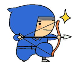 ninja ninnin sticker #1466074