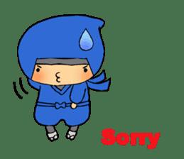 ninja ninnin sticker #1466075