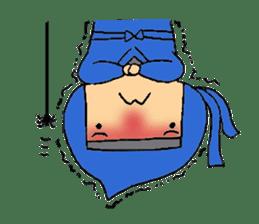 ninja ninnin sticker #1466081