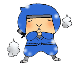 ninja ninnin sticker #1466082