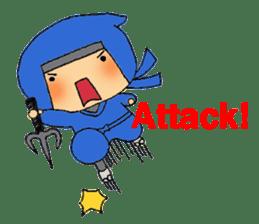 ninja ninnin sticker #1466088