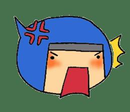 ninja ninnin sticker #1466105