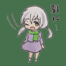 Sky of Iris sticker #1466789