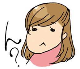 Face muscle stamp ETCHAN sticker #1467441