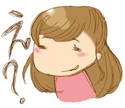 Face muscle stamp ETCHAN sticker #1467442