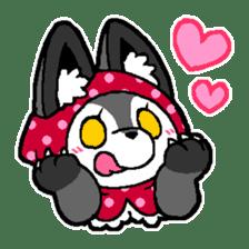 LITTLE RED HOOD WOLF-CHAN sticker #1470010