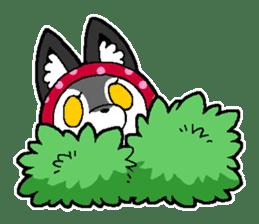 LITTLE RED HOOD WOLF-CHAN sticker #1470016