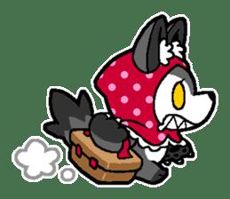 LITTLE RED HOOD WOLF-CHAN sticker #1470017