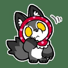 LITTLE RED HOOD WOLF-CHAN sticker #1470023