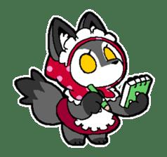 LITTLE RED HOOD WOLF-CHAN sticker #1470025